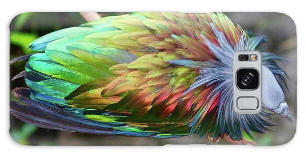 Nicobar Pigeon Galaxy Case