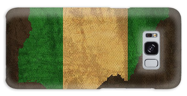 Nigeria Galaxy Case - Nigeria Country Flag Map by Design Turnpike