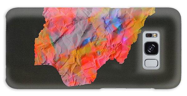 Nigeria Galaxy Case - Nigeria Tie Dye Country Map by Design Turnpike