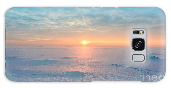Cloudscape Galaxy Case - Night Is Coming Ice Desert by Vibrant Image Studio