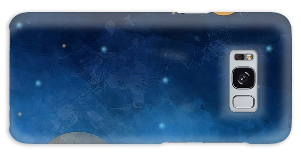 Recycle Galaxy Case - Night Sky,cloud, Moon And Star - Paper by Pluie r