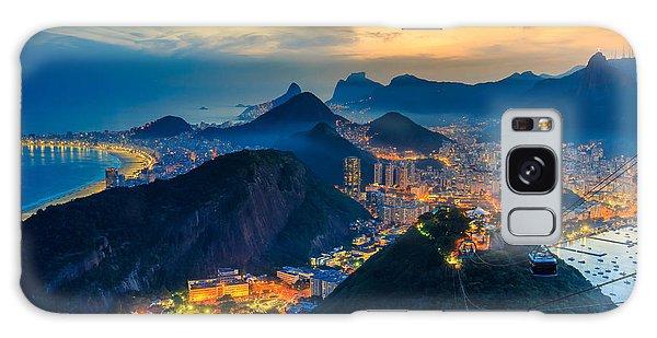 Attraction Galaxy Case - Night View Of Copacabana Beach, Urca by F11photo