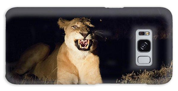 Nightmare Lioness Galaxy Case