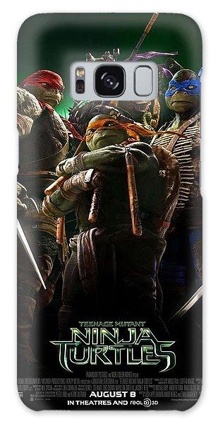 Turtle Galaxy Case - Ninja Turtles 2014 Poster by Geek N Rock