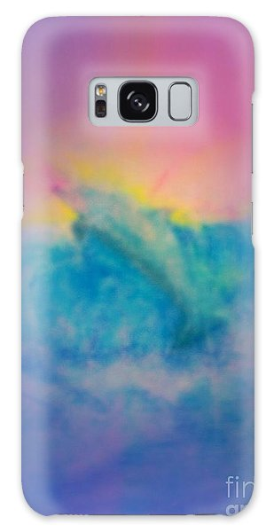 Galaxy Case featuring the mixed media No Limits by Sabine ShintaraRose