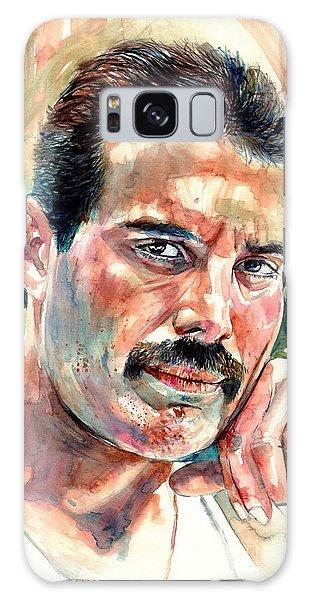 Mercury Galaxy Case - No One But You - Freddie Mercury Portrait by Suzann Sines