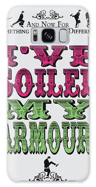 Ok Galaxy Case - No03 My Silly Quote Poster by Chungkong Art
