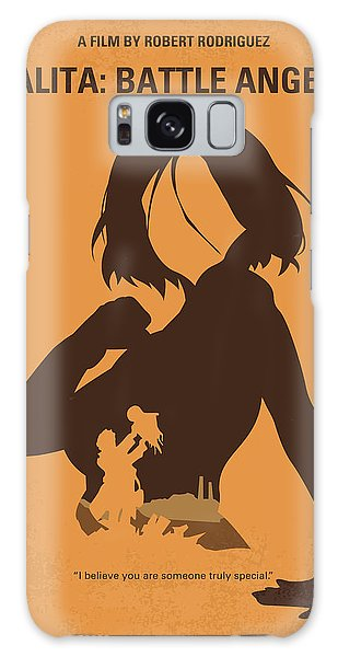 Battle Galaxy Case - No1063 My Alita Battle Angel Minimal Movie Poster by Chungkong Art