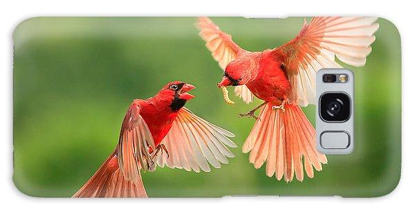 Cardinal Galaxy Case - Northern Cardinal, Wildlife by Jesse Nguyen