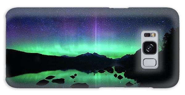 Northern Lights Galaxy Case