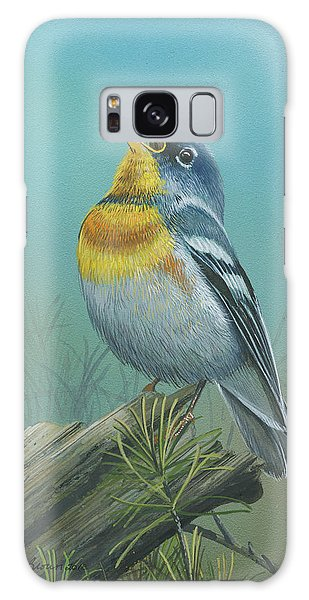 Northern Parula  Galaxy Case