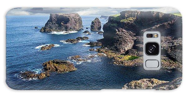 Northmavine Coast, Shetland Isles Galaxy Case