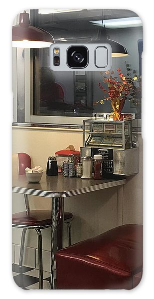 Galaxy Case featuring the photograph Nostalgic Diner by Expressive Landscapes Fine Art Photography by Thom