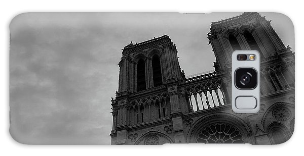 Galaxy Case featuring the photograph Notre Dame Cathedral by Edward Lee