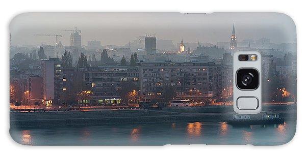 Novi Sad Night Cityscape Galaxy Case