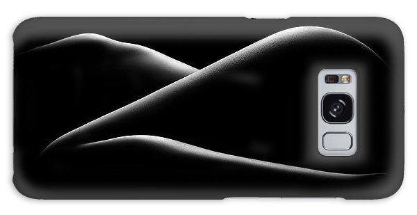 Body Parts Galaxy Case - Nude Woman Bodyscape 17 by Johan Swanepoel