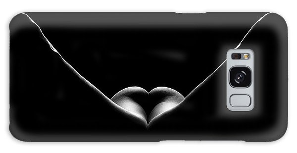 Body Parts Galaxy Case - Nude Woman Bodyscape 27 by Johan Swanepoel