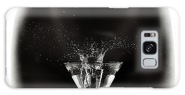 Erotic Galaxy Case - Nude Woman With Martini Splash by Johan Swanepoel
