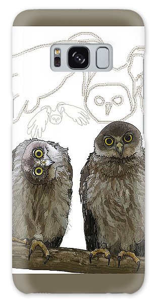 O Is For Owl Galaxy Case