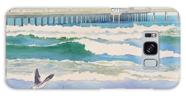 Ocean Beach Pier California Galaxy Case