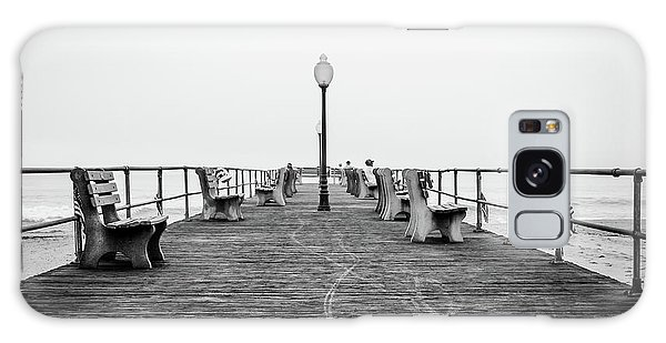 Galaxy Case featuring the photograph Ocean Grove Pier 1 by Steve Stanger