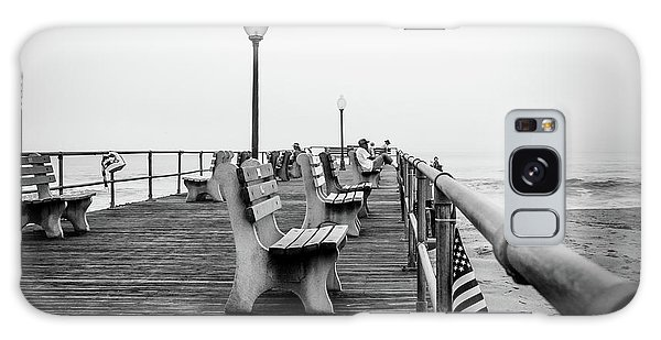 Galaxy Case featuring the photograph Ocean Grove Pier 2 by Steve Stanger