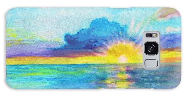 Ocean In The Morning Galaxy Case