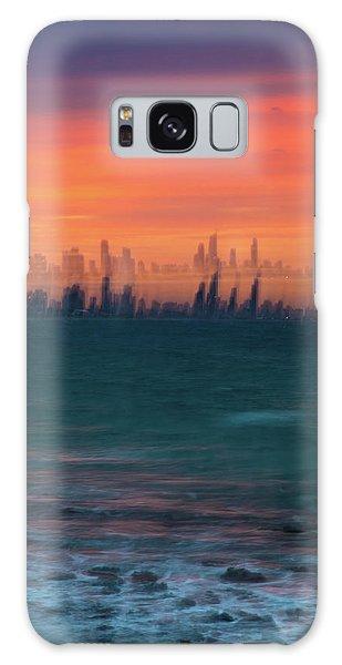 Colours Galaxy Case - Ocean Motion by Az Jackson