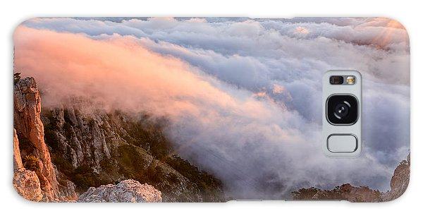 Dawn Galaxy Case - Ocean Of A Cloud And Sky Of Dawn by Olga Maksimava