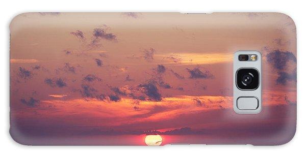 Dawn Galaxy Case - Ocean Sunrise In Indonesia by Dmitry islentev