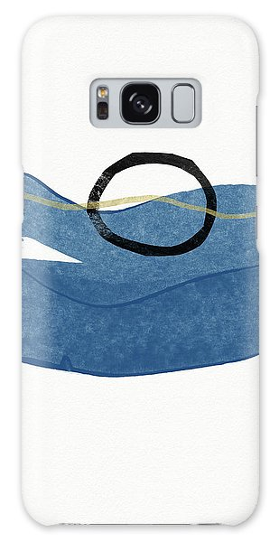 Galaxy Case featuring the mixed media Ocean Zen 1- Art By Linda Woods by Linda Woods