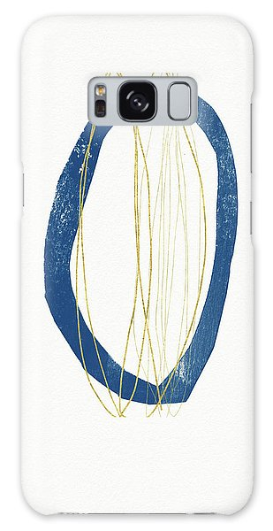 Galaxy Case featuring the mixed media Ocean Zen 4- Art By Linda Woods by Linda Woods