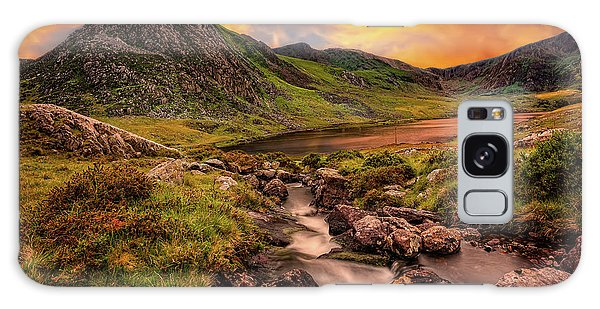 Galaxy Case - Ogwen Lake And Tryfan Snowdonia  by Adrian Evans