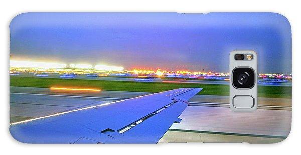 O'hare Night Takeoff Galaxy Case