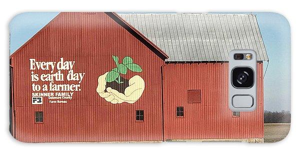 Ohio Barn  Galaxy Case