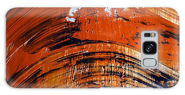 Bright Colors Galaxy Case - Oil Painting Abstract Brushstrokes by Gumenyuk Dmitriy