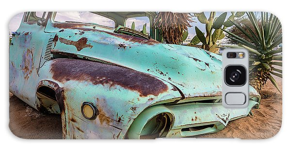 Old And Abandoned Car 7 In Solitaire, Namibia Galaxy Case