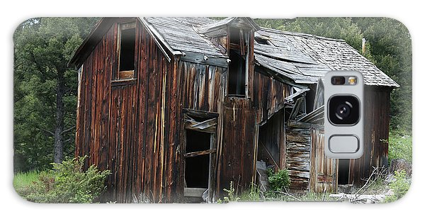 Old Cabin - Elkhorn, Mt Galaxy Case