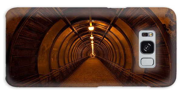 Horizontal Galaxy Case - Old Dark Red Tunnel by Zholobov Vadim