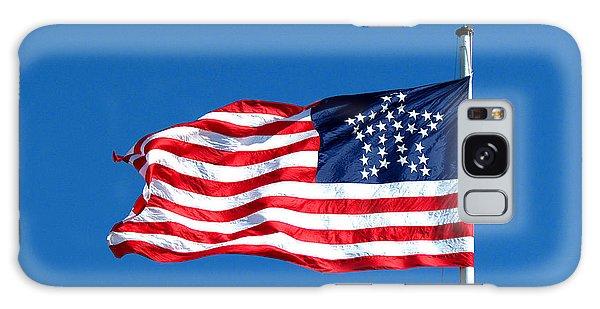 Us Civil War Galaxy Case - Old Glory Over Fort Pulaski by Matt Richardson