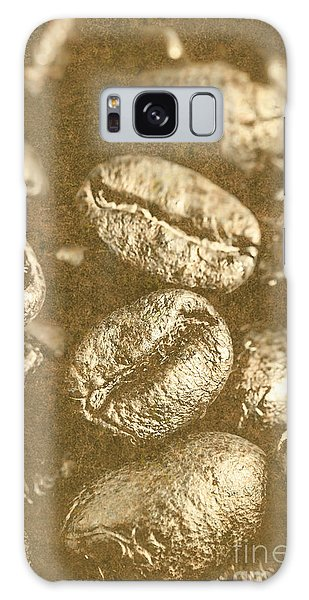 Cafe Galaxy Case - Old Gold Roast by Jorgo Photography - Wall Art Gallery