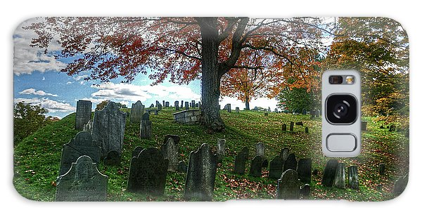Old Hill Burying Ground In Autumn Galaxy Case