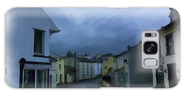 Galaxy Case - Old Laxey Village 1 by Digital Painting