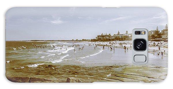 Seaside Galaxy Case - Old Sunshine Coast Bathers by Jorgo Photography - Wall Art Gallery