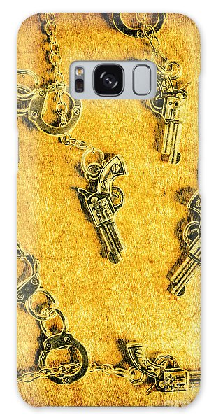 Guns Galaxy Case - Old Western Justice by Jorgo Photography - Wall Art Gallery