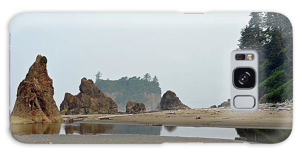 Olympic National Park Seastacks Galaxy Case