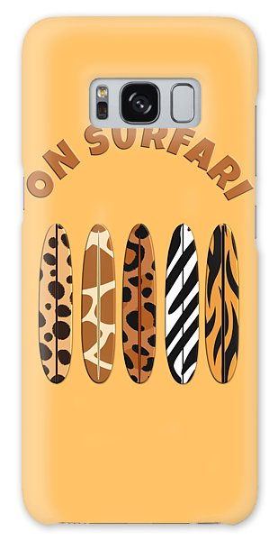 On Surfari Animal Print Surfboards  Galaxy Case