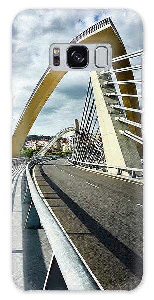 Millennium Bridge In Ourense, Spain Galaxy Case