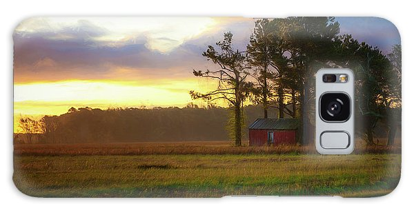 Galaxy Case featuring the photograph Onc Open Road Sunrise by Cindy Lark Hartman
