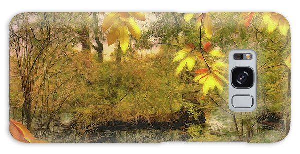 Galaxy Case featuring the photograph Once A Pond A Time by Leigh Kemp